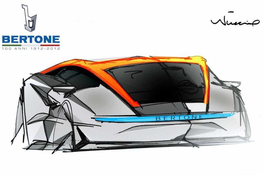 Geneva motor show: Bertone Nuccio