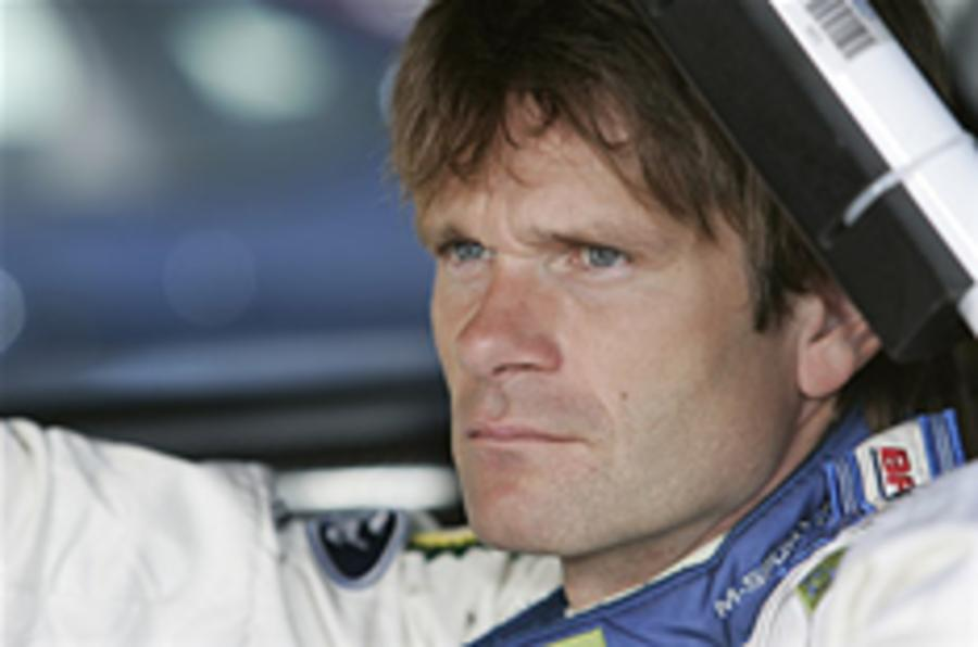 Gronholm in shock rally return