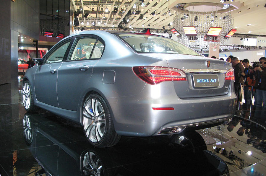 Roewe 350 to be built in UK