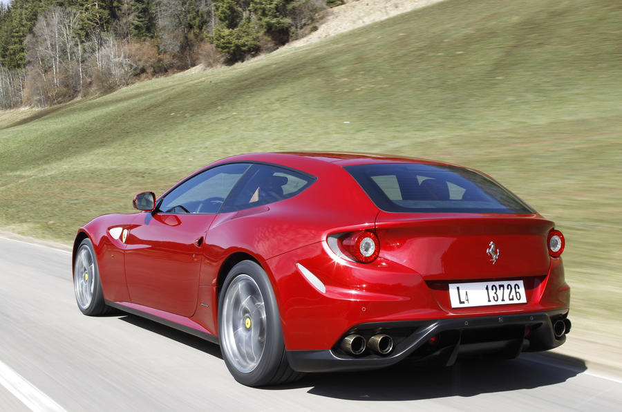 Four-wheel drive Ferrari FF