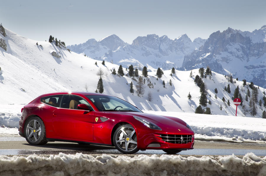 Gran tourer Ferrari FF