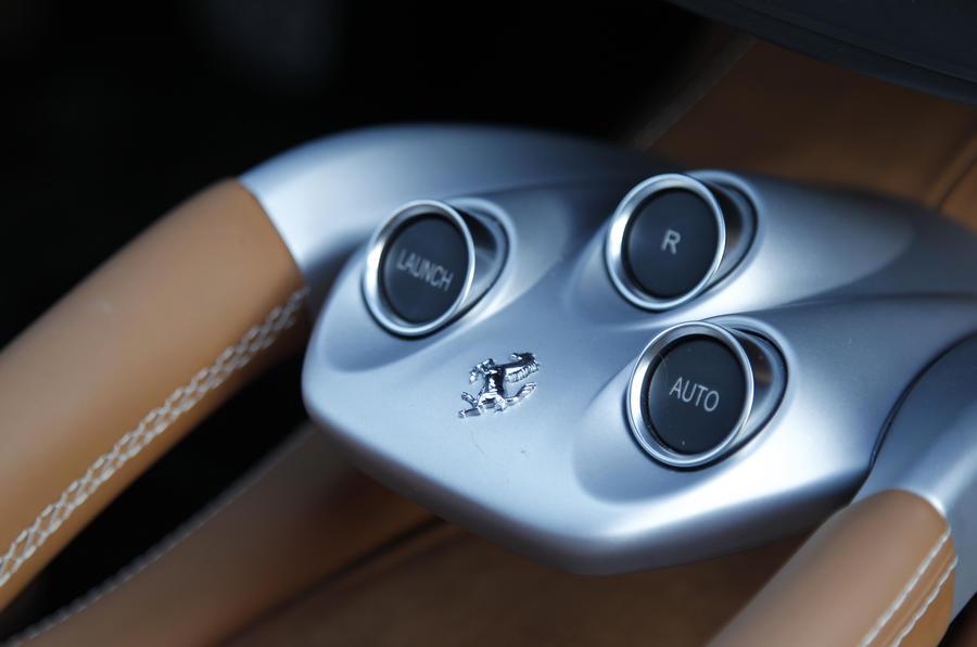 Ferrari FF automatic gearbox