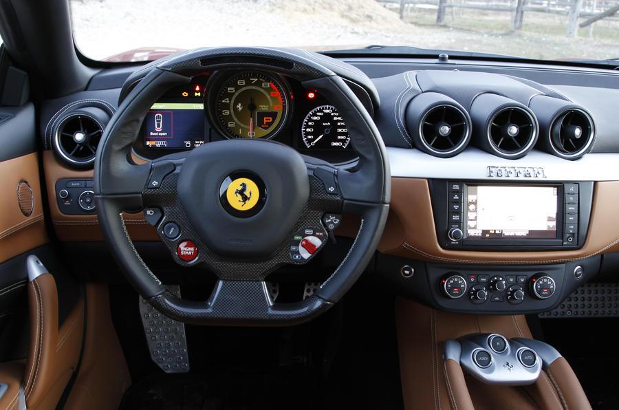Ferrari FF dashboard