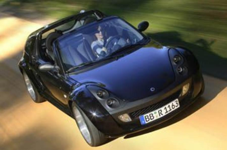 smart roadster coupe brabus review autocar. Black Bedroom Furniture Sets. Home Design Ideas