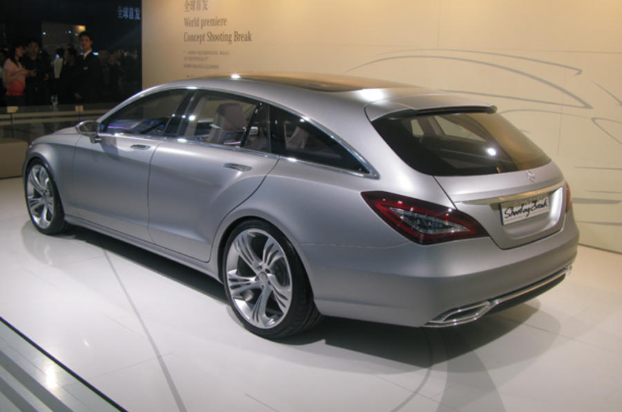 Merc confirms CLS wagon