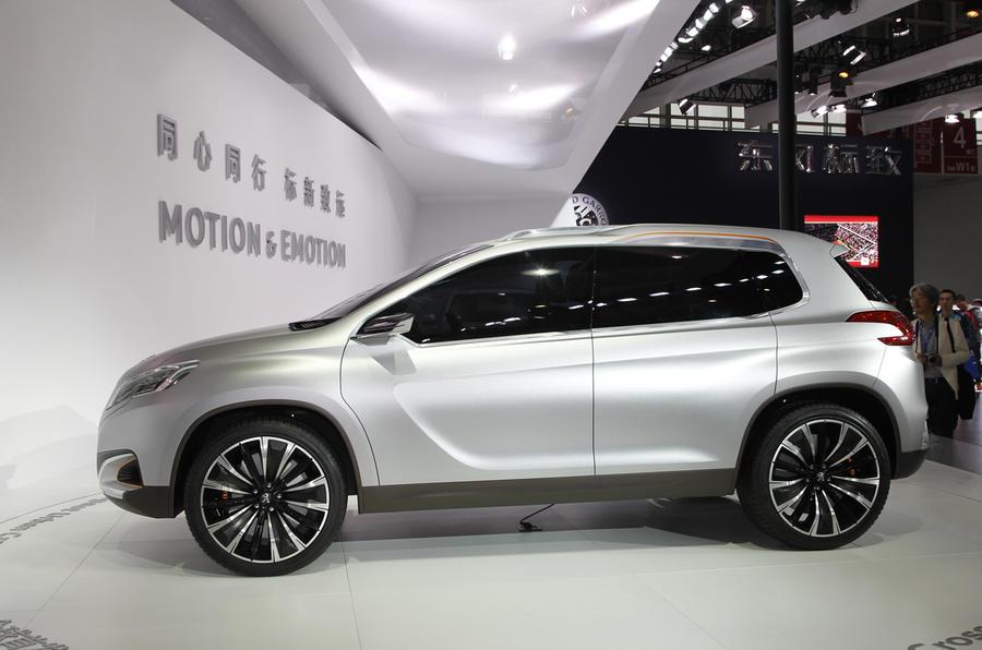 Beijing show: Peugeot Urban Crossover