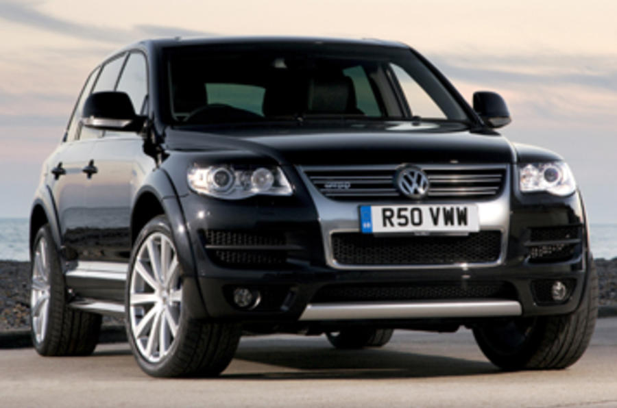 volkswagen touareg r50 review autocar. Black Bedroom Furniture Sets. Home Design Ideas