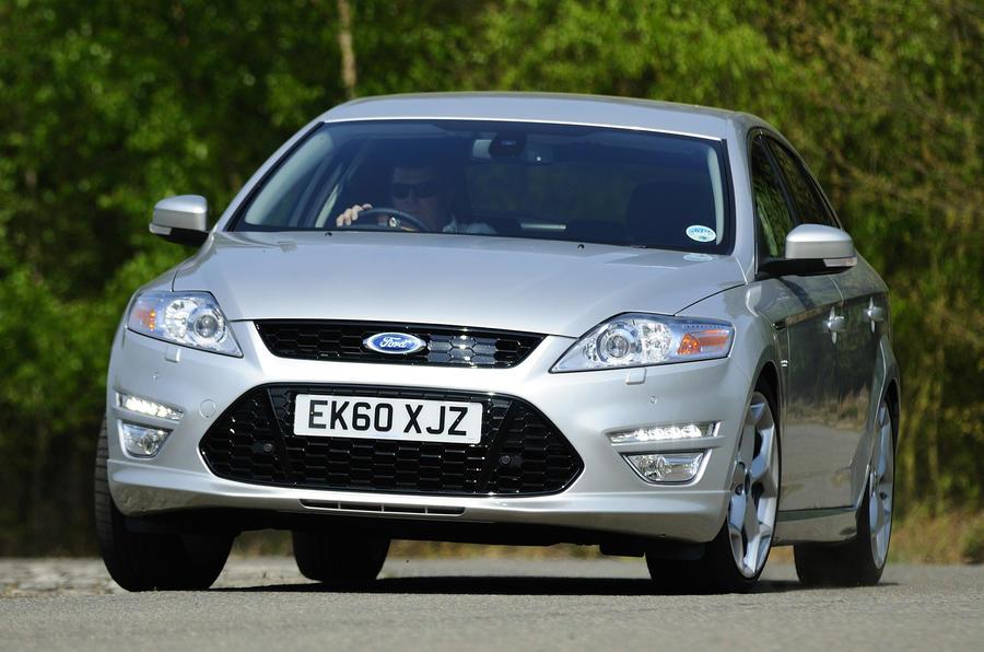 Ford Mondeo Titanium X cornering