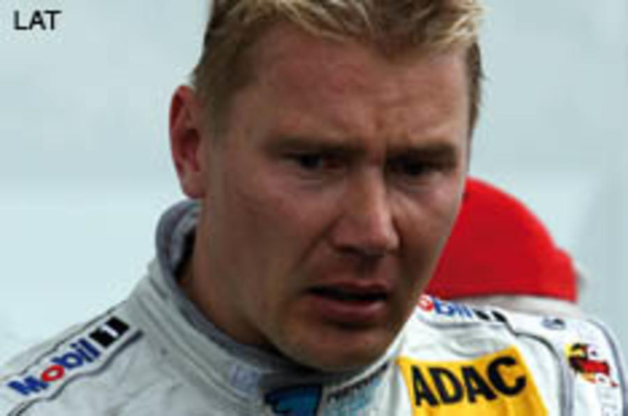 Goodwood drive for Hakkinen