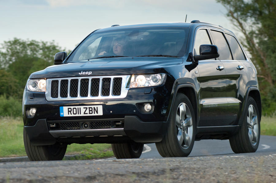 jeep grand cherokee 3 0 v6 crd first uk drive