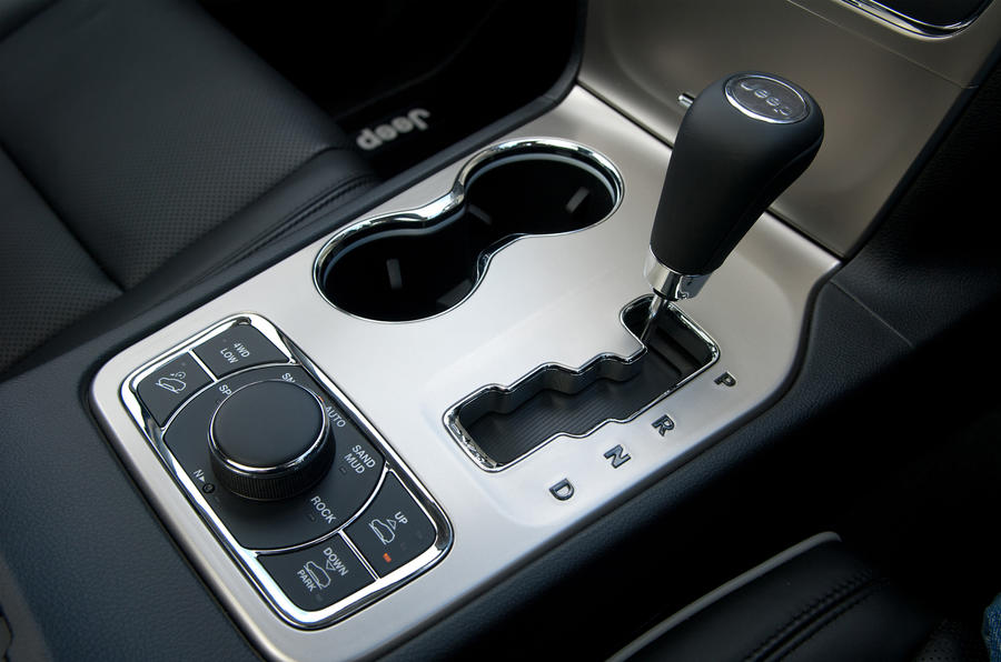 Jeep Grand Cherokee automatic gearbox