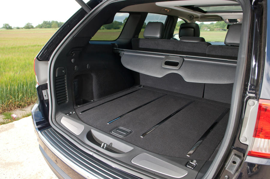 Jeep Grand Cherokee boot space