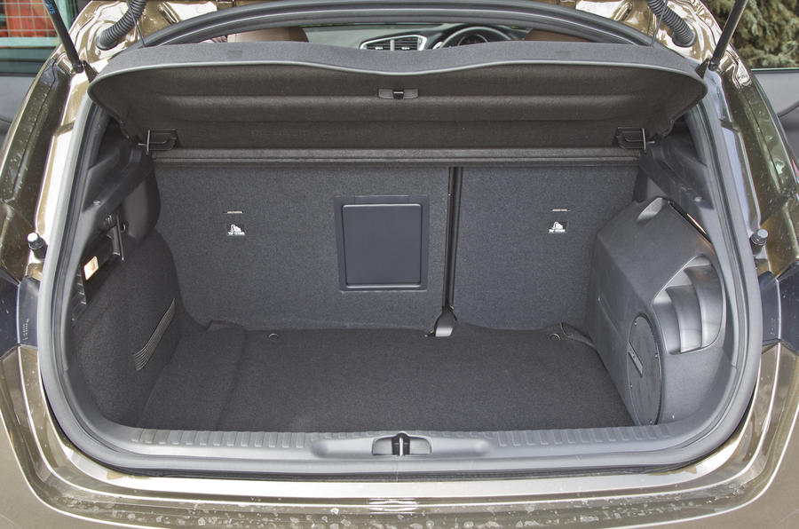 DS 4 DSport boot space