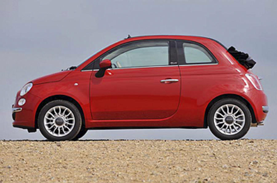 Fiat 500 Pop >> Fiat 500 1.2 Pop Convertible review | Autocar