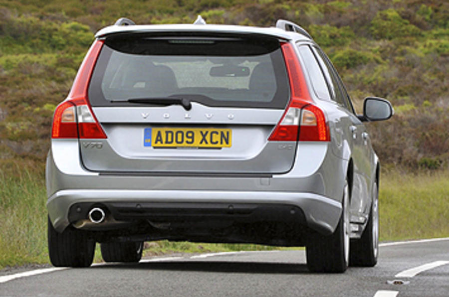 Volvo V70 rear end