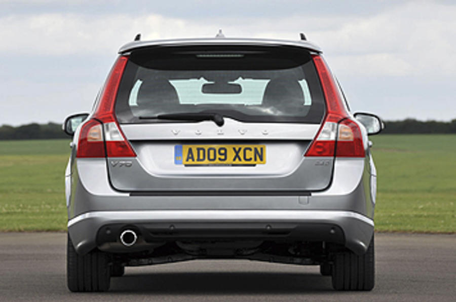 Volvo V70 rear quarter