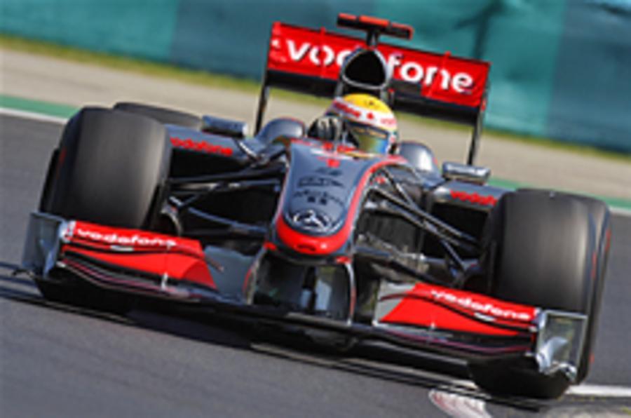 Hamilton fastest in Hungary