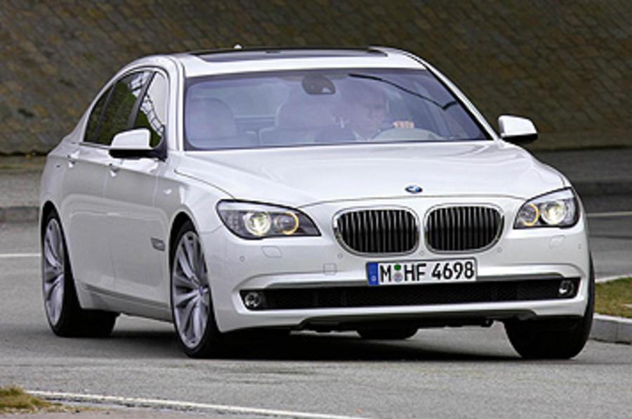 BMW 760Li Hard Conrering