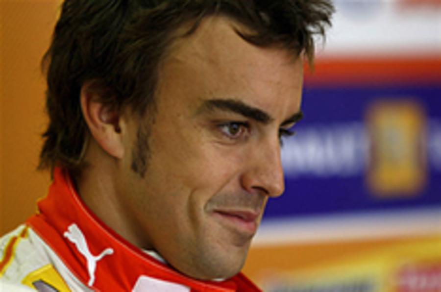 Alonso tops Valencia F1 practice