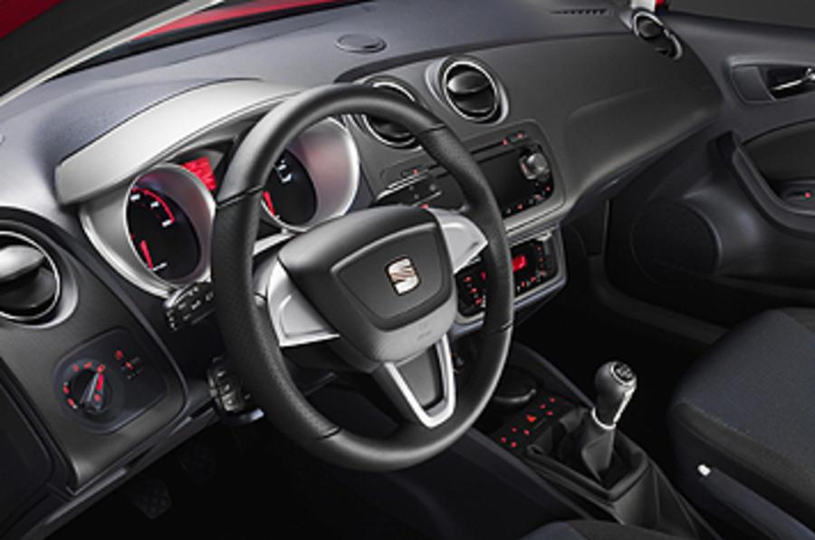 Seat ibiza 1 6 review autocar for Interieur seat ibiza cupra