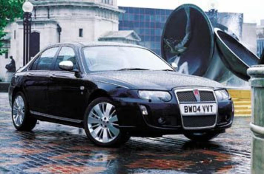 first drive rover 75 v8 review autocar. Black Bedroom Furniture Sets. Home Design Ideas