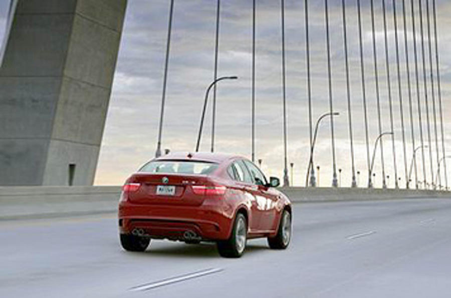 BMW X6 M rear end