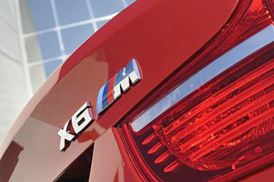 BMW X6 M badging