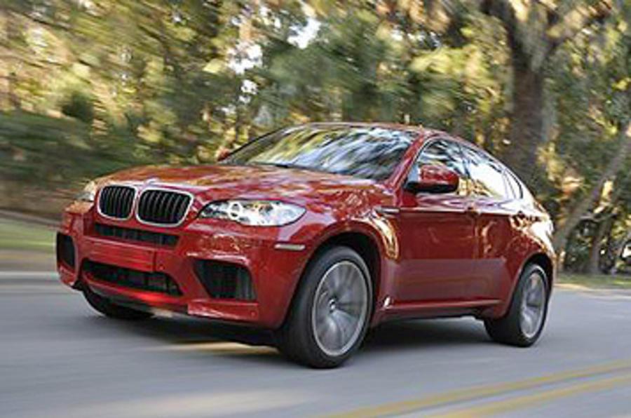 BMW X6 M front quarter