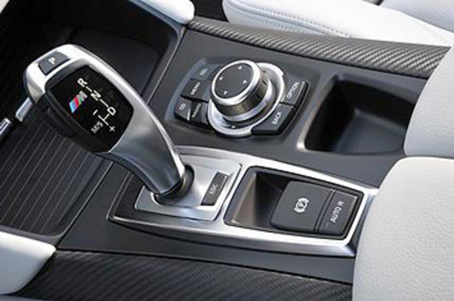 BMW X6 M automatic gearbox