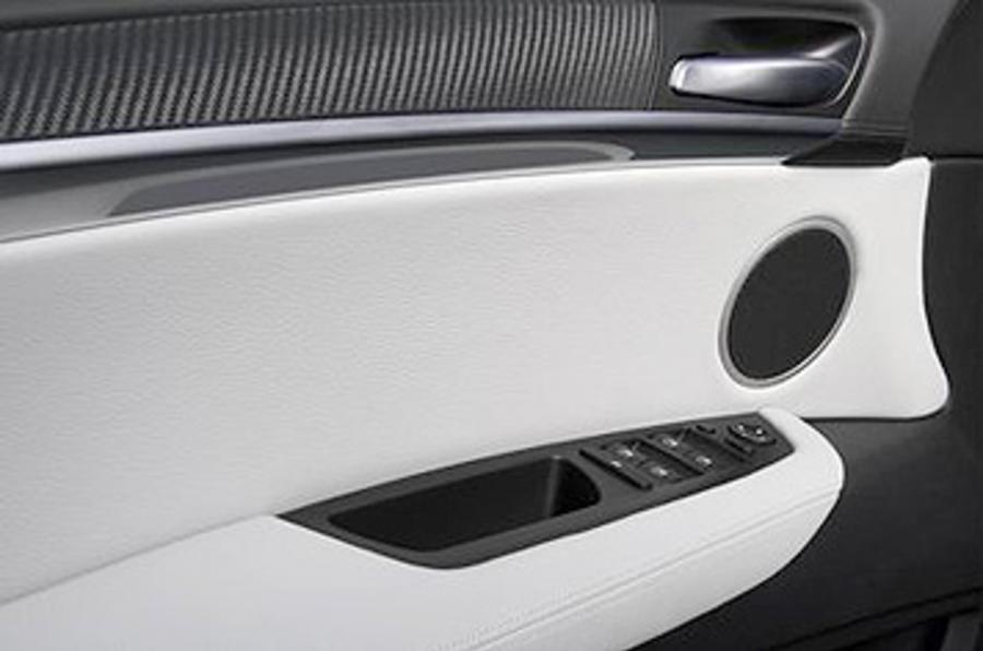 BMW X6 M door card
