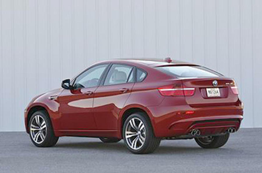 BMW X6 M rear quarter