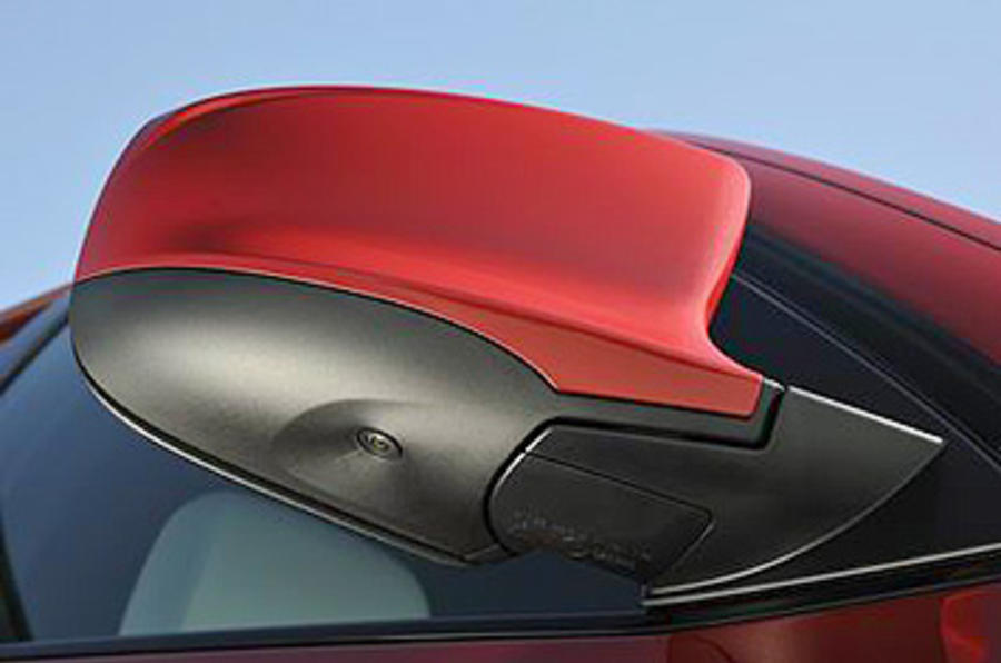 BMW X6 M wing mirror