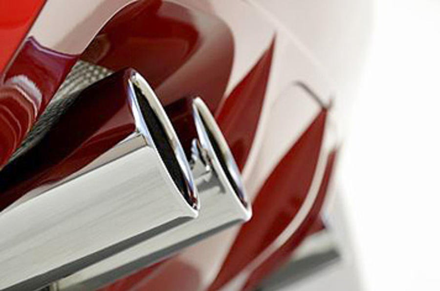 BMW X6 M quad exhaust