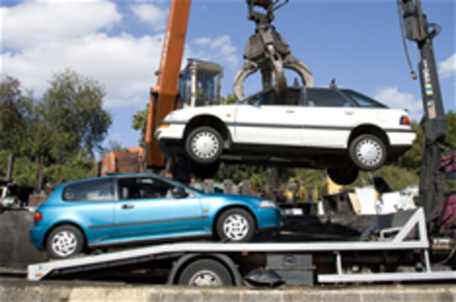 Scrappage 'prolonging recession'