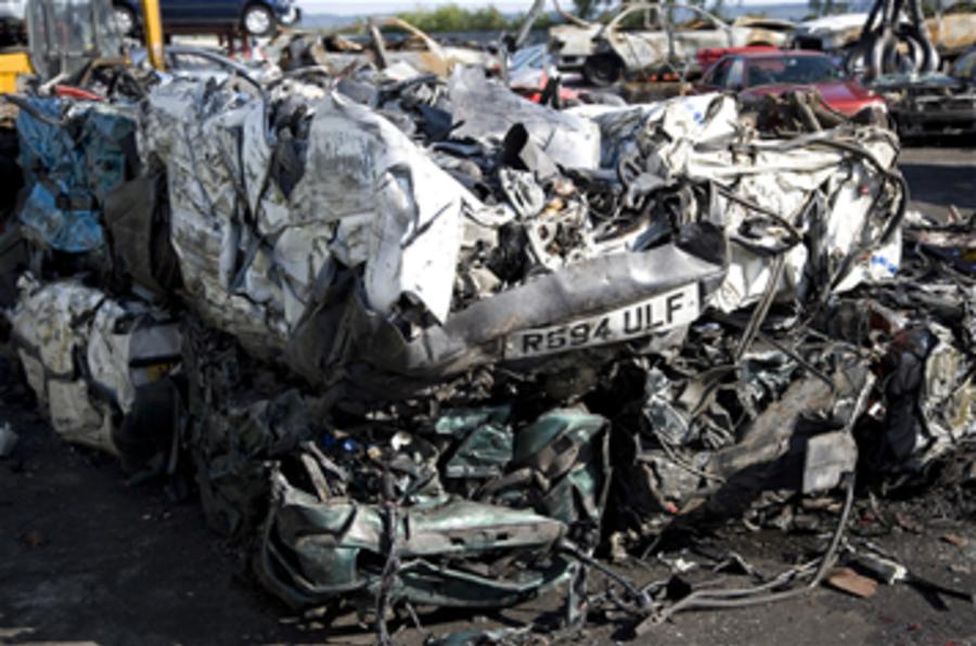 Scrappage quotas to be imposed
