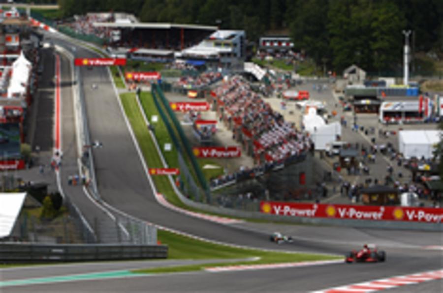 Spa circuit shut down until 2026