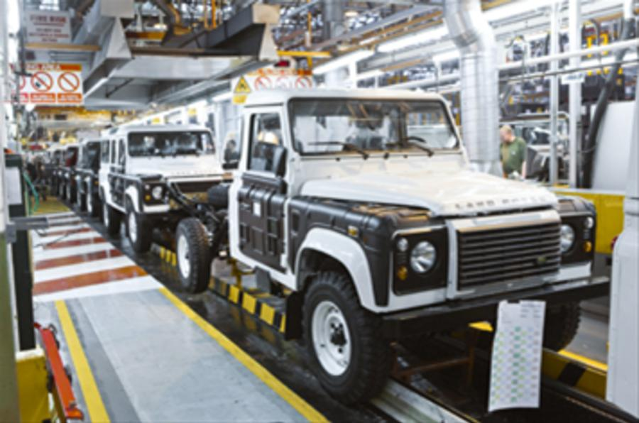 JLR 'to keep third plant open'