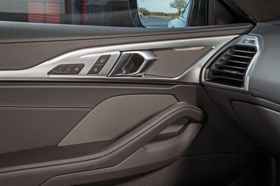 BMW 8 Series Coupé 2019 road test review - door cards