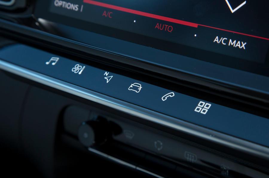 Citroen C5 Aircross 2019 road test review - shortcut keys