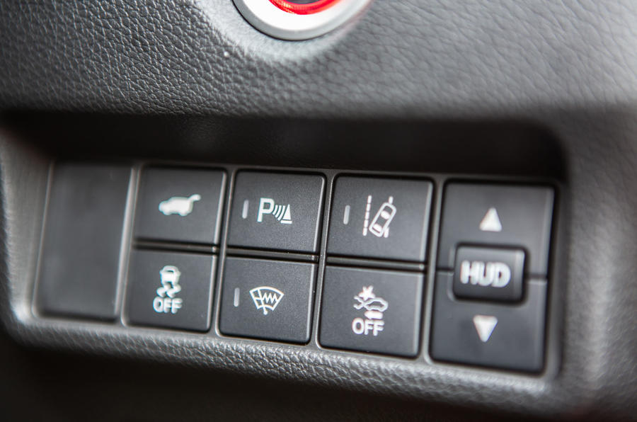 Honda CR-V 2018 road test review - driver assist controls