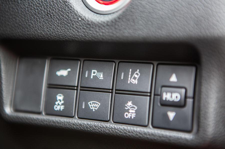 Honda CR-V 2018 road test review - driver assist controls