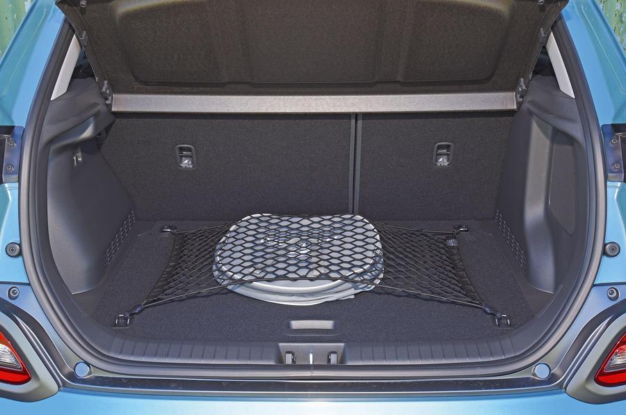Hyundai Kona Electric 2018 road test review - boot