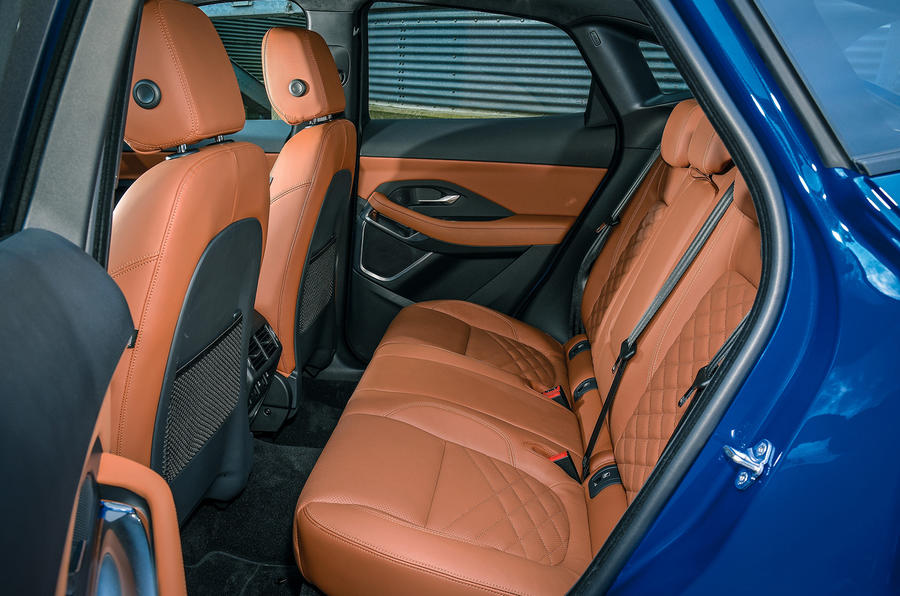 Jaguar E-Pace review rear seats
