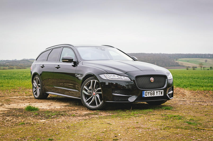 Jaguar XF Sportbrake 2019 road test review - static