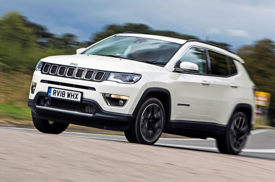 Jeep Compass 2018 road test review - on the road front