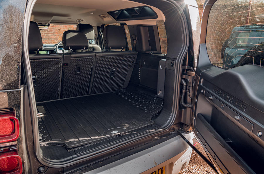 Land Rover Defender 2020 road test review - boot