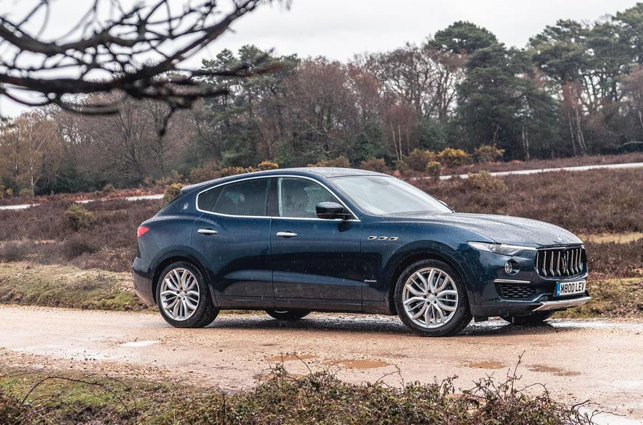 Maserati Levante S GranLusso 2019 road test review - static