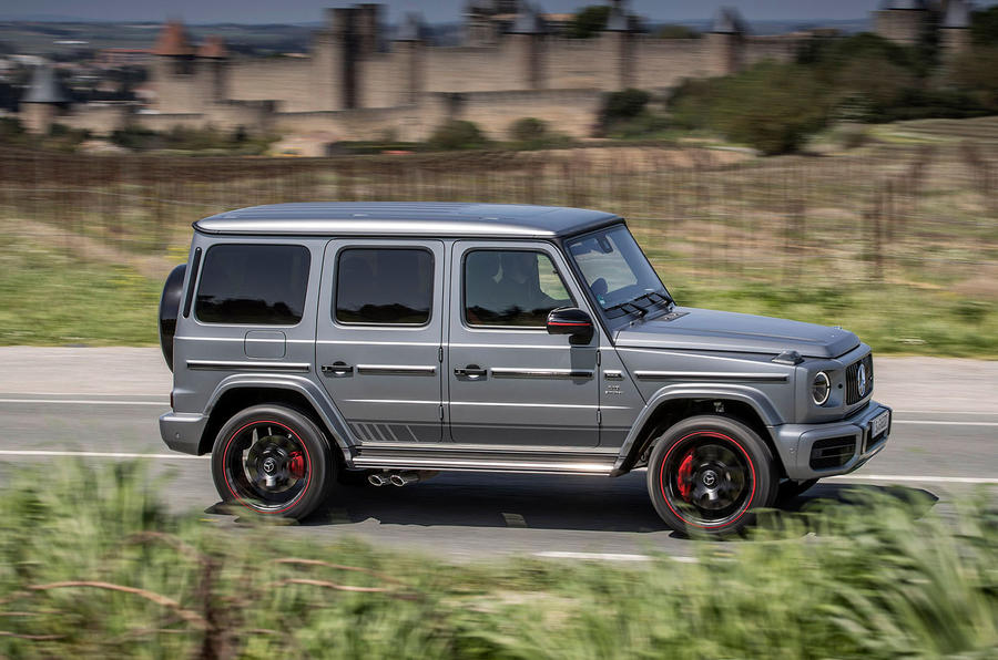 Mercedes-AMG G63 2018 review road side