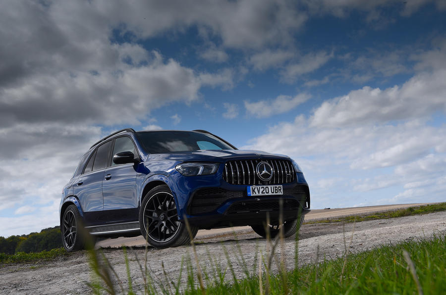 Mercedes-AMG GLE 53 2020 road test review - static