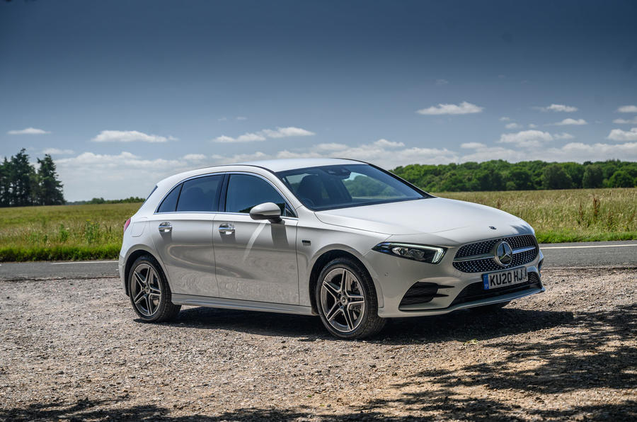 Mercedes-Benz A250e 2020 road test review - static